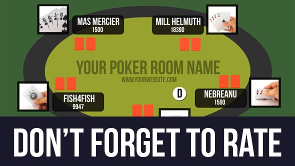 VIDEOHIVE ONLINE POKER ROOM PRESENTATION