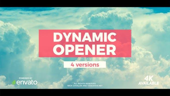 VIDEOHIVE DYNAMIC OPENER 20263435