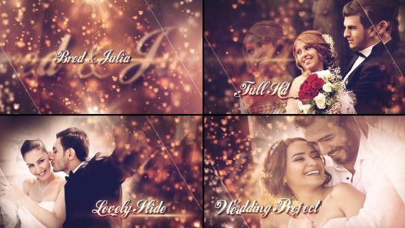 VIDEOHIVE LOVELY WEDDING SLIDESHOW