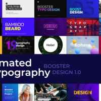 VIDEOHIVE CREATIVE ANIMATED TYPOGRAPHY