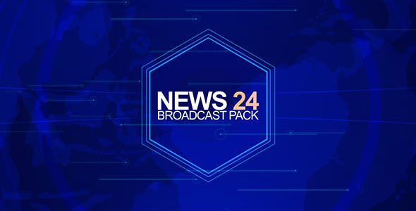 VIDEOHIVE NEWS 24 (BROADCAST PACK) 9120666