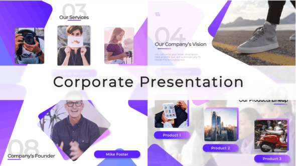 VIDEOHIVE CORPORATE VIDEO PRESENTATION