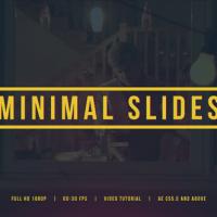 VIDEOHIVE MINIMAL SLIDES 14824123