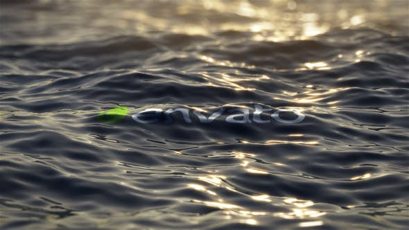 VIDEOHIVE ULTRA REALISTIC OCEAN LOGO