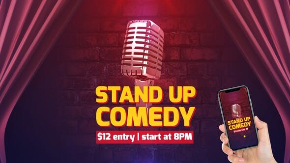 VIDEOHIVE STAND UP COMEDY