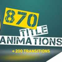 870 TITLE ANIMATIONS - AFTER EFFECTS PROJECT (VIDEOHIVE)