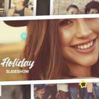 VIDEOHIVE HOLIDAY PHOTO SLIDESHOW