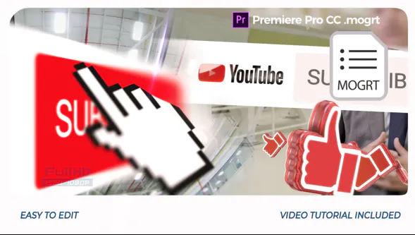 Youtube Opener Premiere Pro