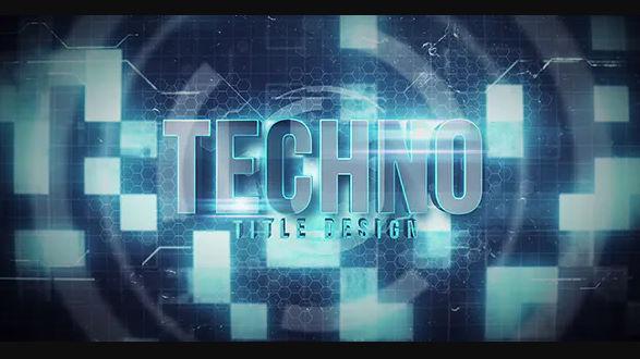 VIDEOHIVE TECHNO TITLE