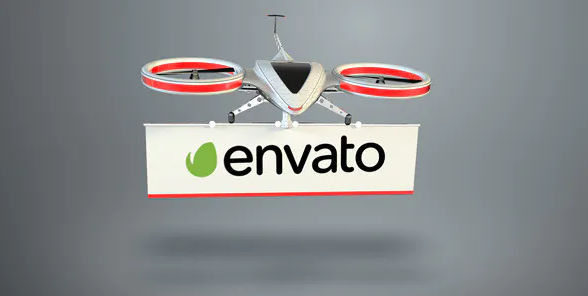 Videohive Drone Logo