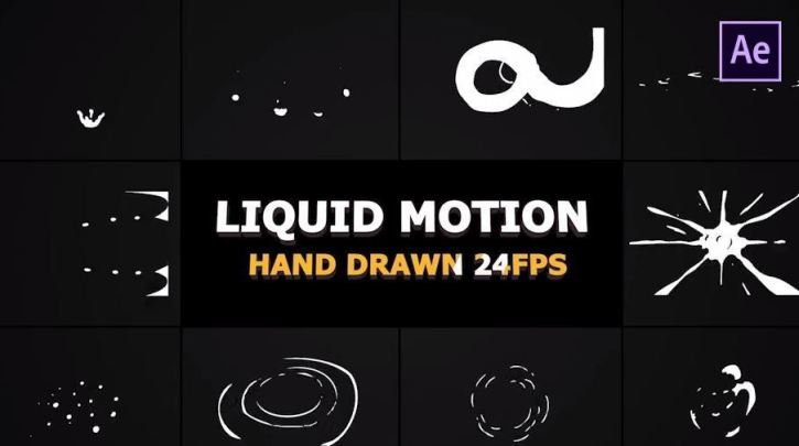 Liquid Motion Elements And Transitions