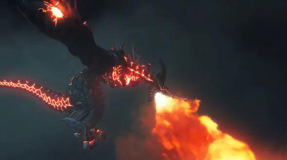 Dragon Fire Breath Logo