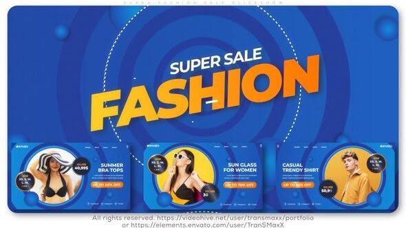 Super Fashion Sale Slideshow