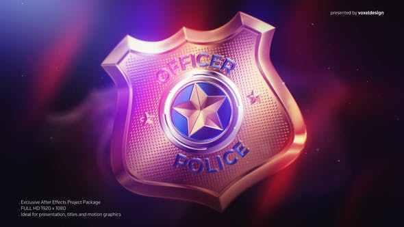 VIDEOHIVE POLICE BADGE OPENER