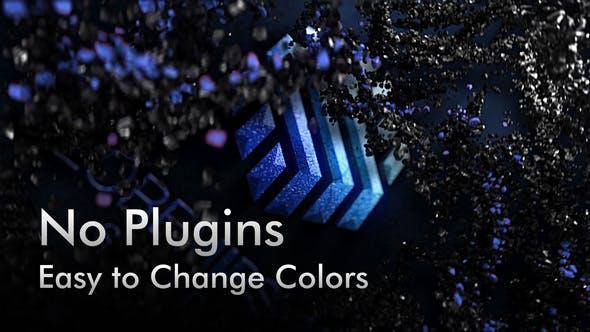 Black Rock Particles 5 Color Presets