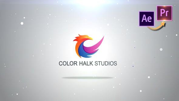 Particles Logo Revealer Premiere PRO