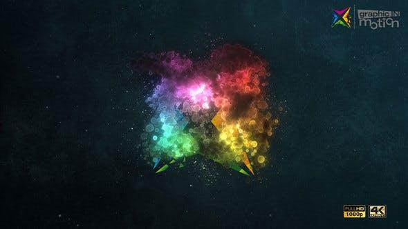Particle Cloud Logo Reveal