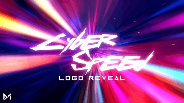 Cyber Speed Logo Reveal