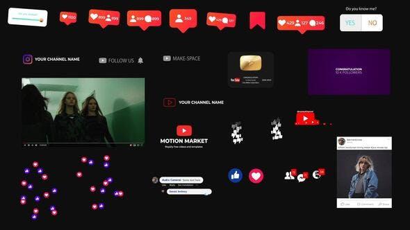 Social Medial Elements