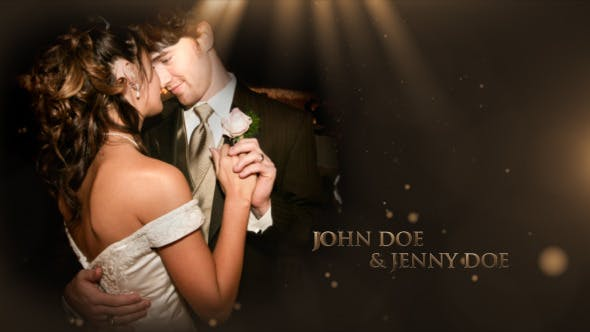 Wedding Slideshow Romantic Memories