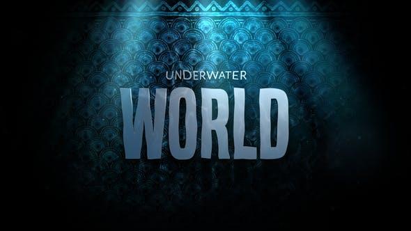 Cinematic Drama Trailer Underwater World