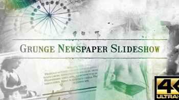 Grunge Newspaper Slideshow