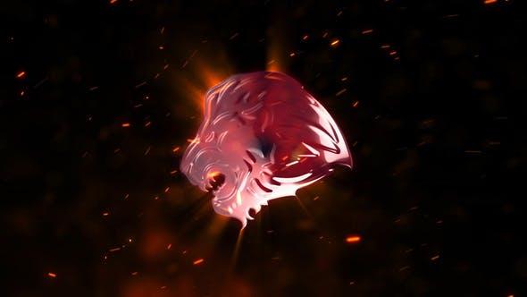 Explosion Fire Logo