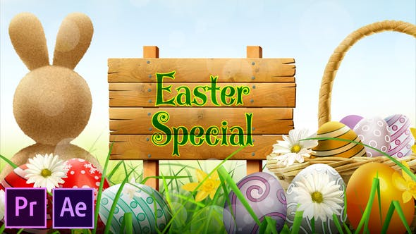 Easter Special Promo Premiere Pro