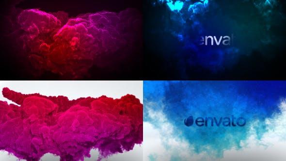 Color Smoke Logo Reveal 2