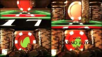 Casino Online Gambling Logo Reveal