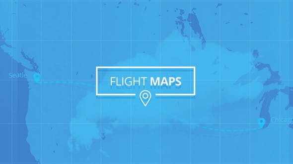 Flight Maps – Visualize Where You're Travelling