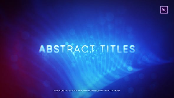 Abstract Titles