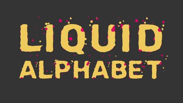 Liquid Alphabet