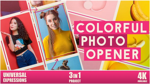 Colorful Photo Opener