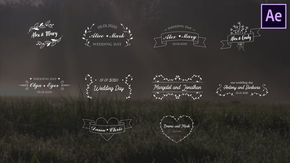 Wedding Titles | After Effects