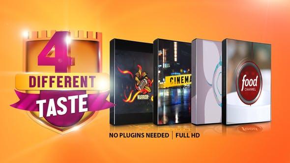 Four Different Taste logo Pack