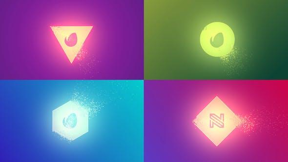Quick Simple Particles Logo