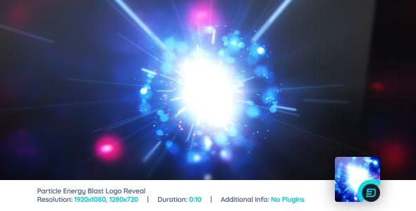 Particle Energy Blast Logo Reveal V3