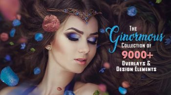 The Ginormous Collection Of 9000+ Overlays And Design Elements