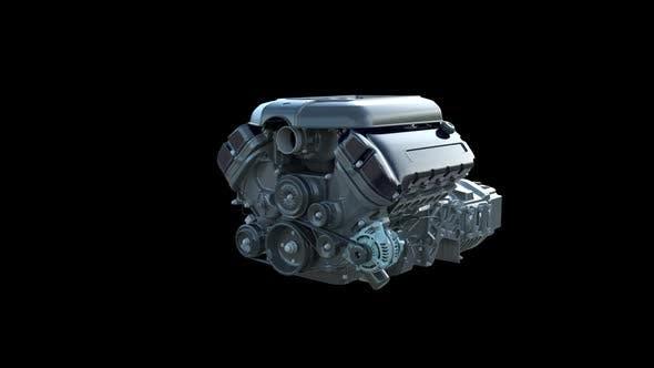 Car Engine Graphics