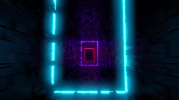 Neon Frames Tunnel 04