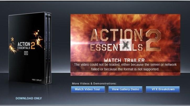 Action Essentials 2 – Videocopilot