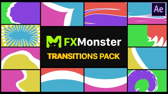 Colorful Transitions Pack