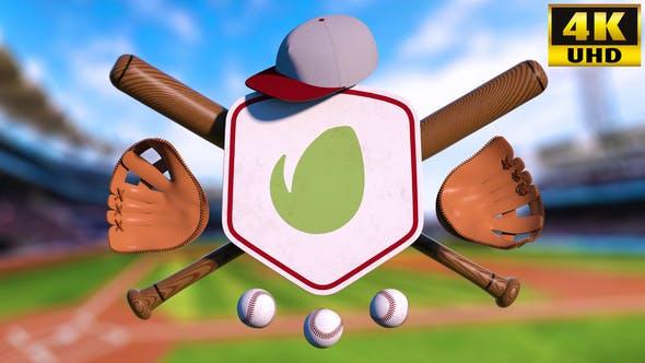 Baseball Logo Reveal Intro V1