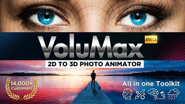 Videohive VoluMax – 3D Photo Animator v5.2 13646883