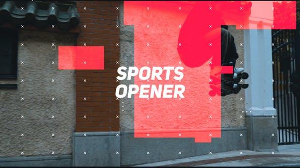 Sports Opener Premiere Pro