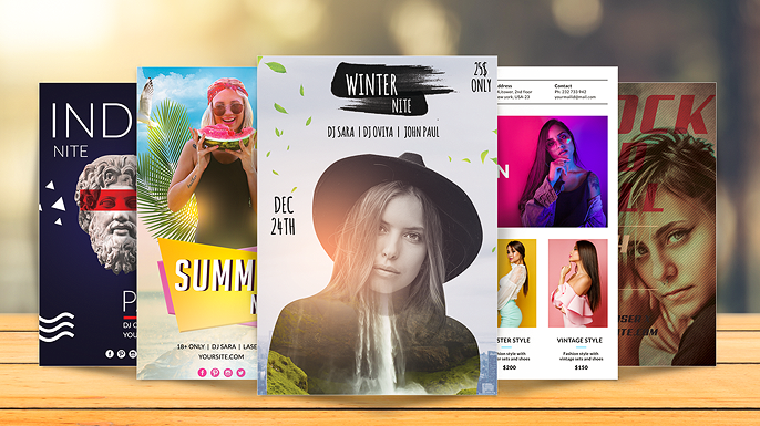How To Design Flyer Templates In Photoshop | In-Depth Tutorial v2