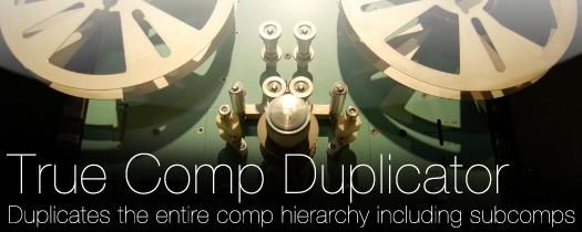 Aescripts True Comp Duplicator V3.9.11