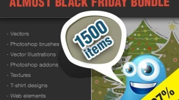Black Friday Surprise: $1839 Worth of Design Goodies for Only $49