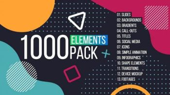 1000 Elements. Graphics Tool Pack